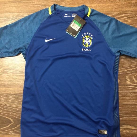 Nike Brazil Youth Jersey